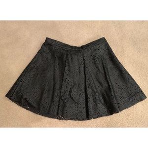 NWT faux leather skirt for girls